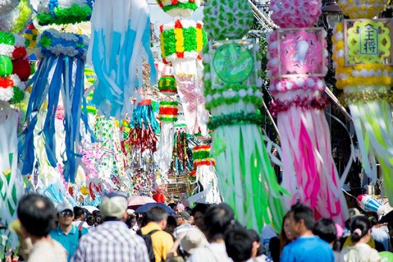 เทศกาลอันโจะ ทะนะบะทะ มัตซึตริ