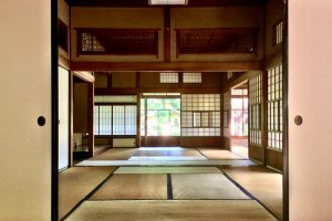 The largest of the tatami rooms