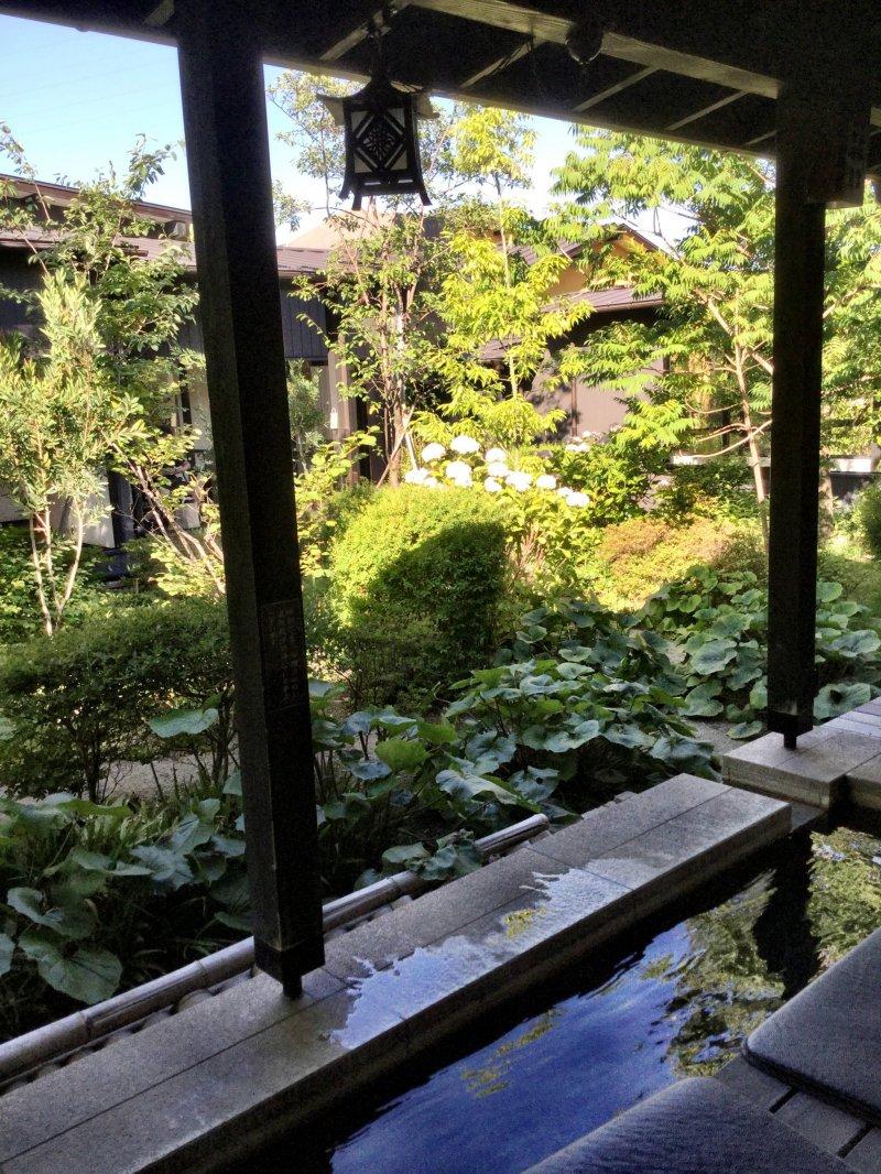 Uta no Yu Hot Spring Spa - Saitama - Japan Travel