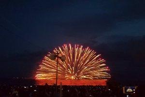 카마쿠라 불꽃놀이