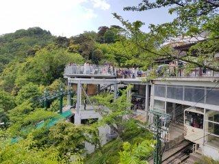 ระเบียงชมวิวที่สวนคะสะมัตซึต