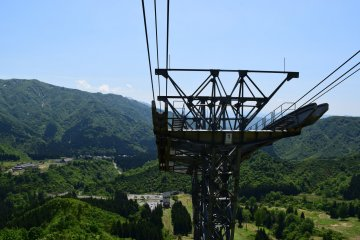 The ropeway is a popular sightseeing spot in the area