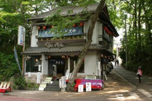 It's all about atmosphere: soba restaurants abound