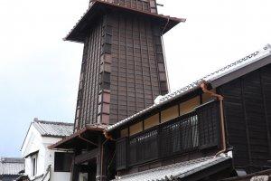 Tori no kane (tháp chuông) là một biểu tượng của  Kawagoe.