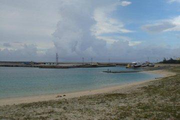 <p>해변가</p>