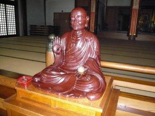 Kukai, còn được gọi là Kobo Daishi, đức Phật của giáo phái Phật giáo Shingon