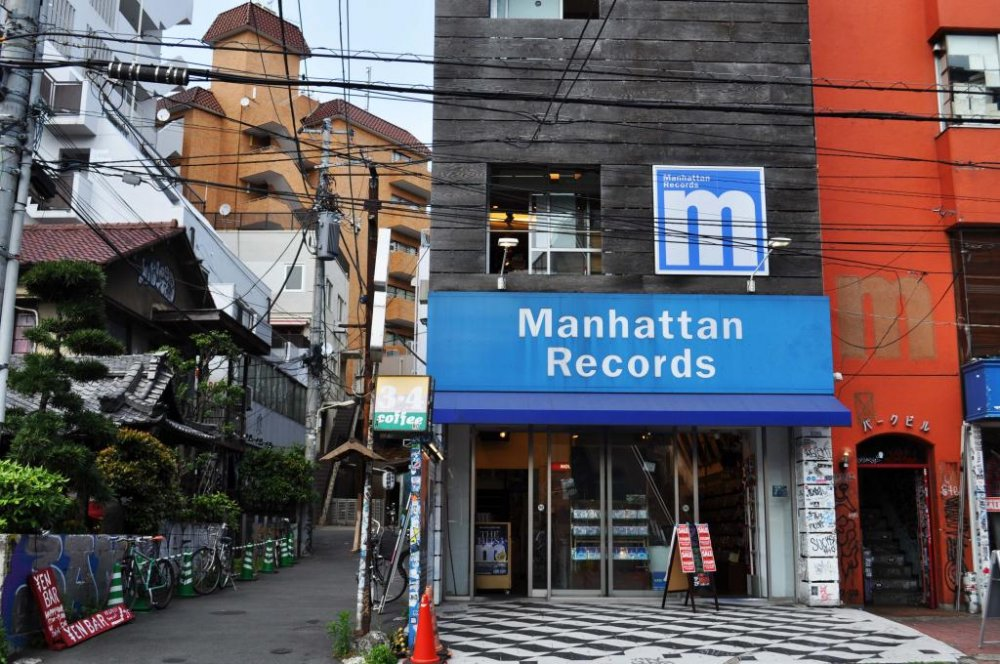 マンハッタンレコードは90年代にオープンした