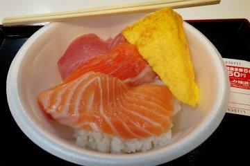 DIY海鮮丼