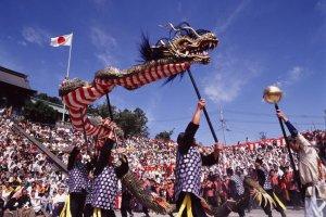 เทศกาล Nagasaki Kunchi
