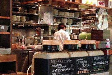 Quán cafe Iyemon ở Karasuma Sanjo