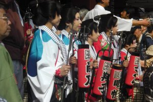 Traditional costumes for a traditional event