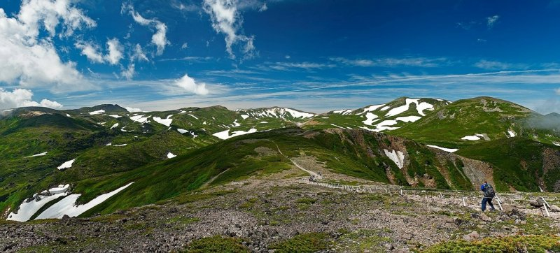 The majestic Daisetsuzan National Park