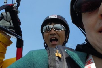 Skypark Utsunomiya: Paragliding