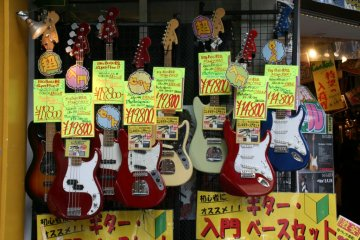 Back on the hunt: Fender copies at tempting prices.