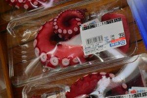 Octopus pieces
