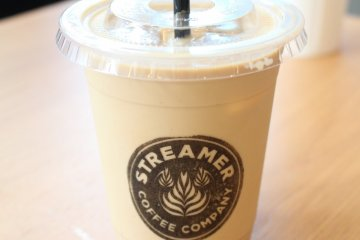 Streamer coffee available at the cafe