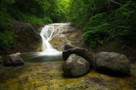 Shiretoko Kamuiwakka Hot Waterfall