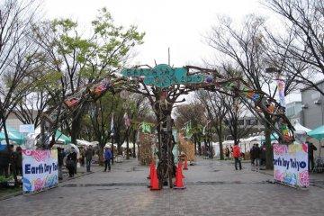 Earth Day Festival in Tokyo