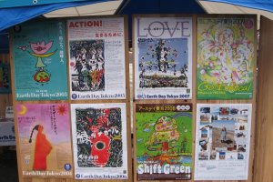 Posters from previous Earth Day Festivals