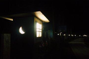 Ночная прогулка по кладбищу