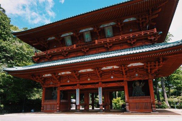 The impressive Daimon Gate