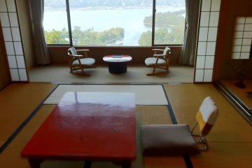 Room at from Genmyoan Ryokan Amanohashidate on the North Shore of Kyoto Prefecture