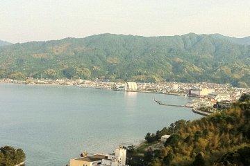 View of Miyazu Bay