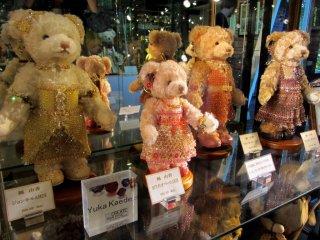 Bagi para penggemar teddy bear antik, museum ini tidak akan mengecewakan