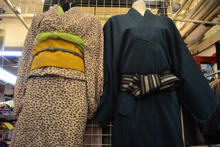 Used-Kimono in Harajuku