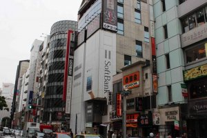 SoftBank Shibuya Street View