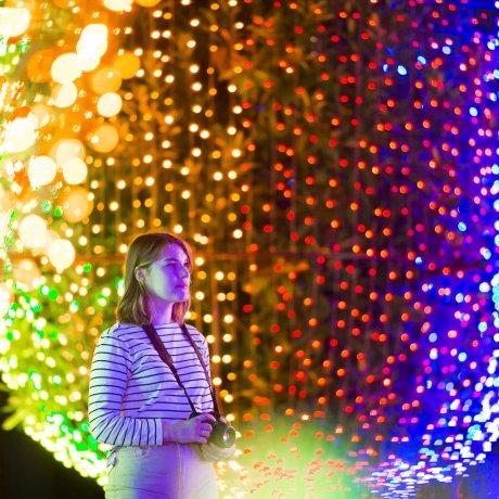 Visiting Shinagawa: Tokyo Mega Illumination