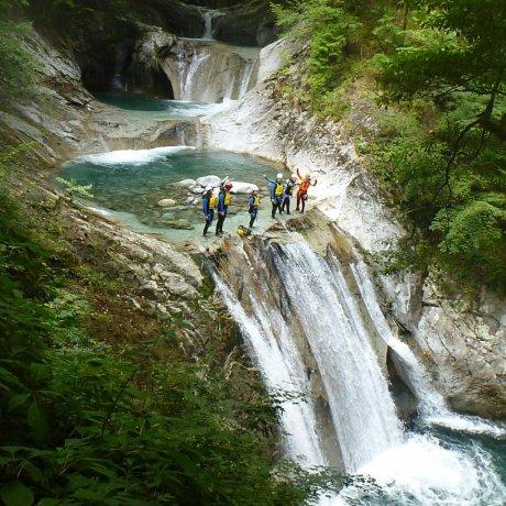 Canyoning in Yamanashi