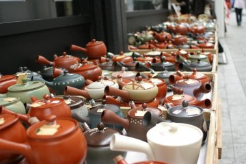Teapots, teapots, everywhere!