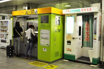 ATMs and photobooths