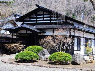 Bagian luar salah satu rumah samurai