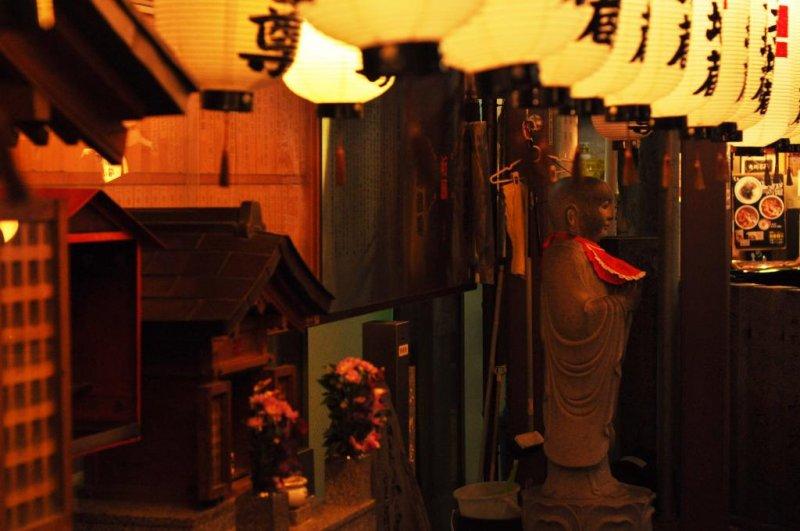 A lovely little Buddhist shrine