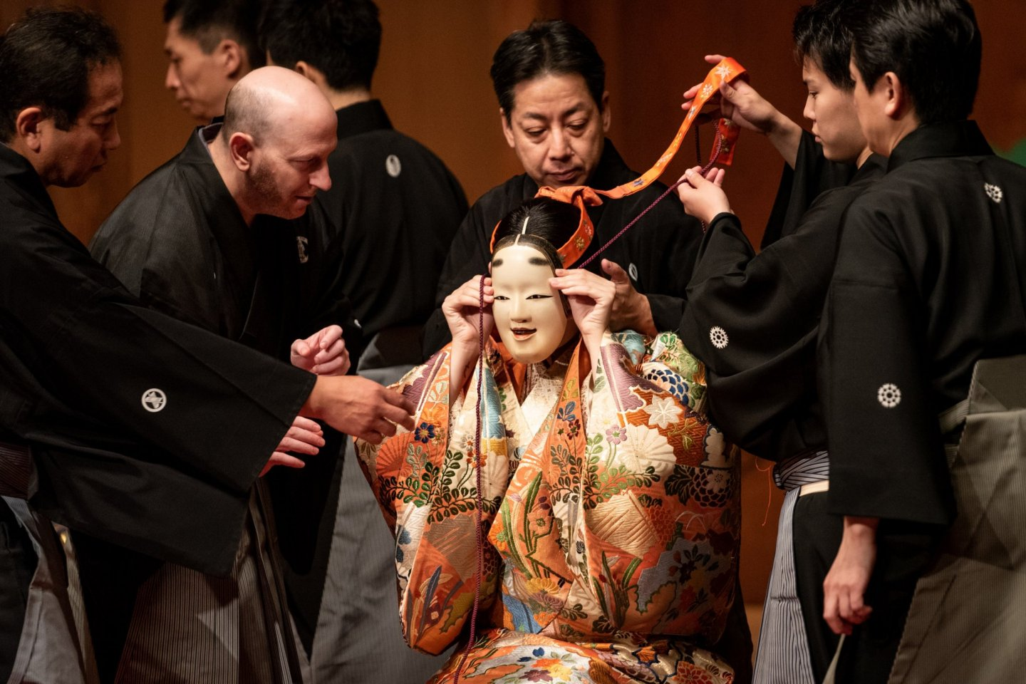 Masks play an important role in Noh