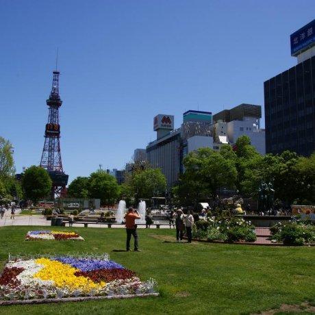 Sapporo city scenes
