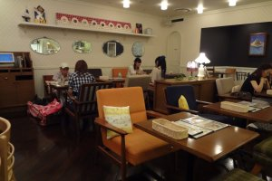 Cozy Le Moulin de la Galette is on the 3F of Lumine, a fashion store near the JR Yokohama Central East exit