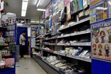 Anime Shops of Akihabara