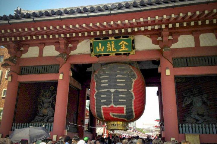ประตูคามินาริมงที่อาซากุสะ