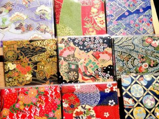 Facial Oil Removing Papers with Traditional designs at the Chion-ji temple Artisan Markets on the 15th of each month