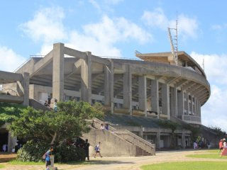 Okinawa's premier stadium beckons spectators to attend Japan Football League matches