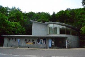 Main building of Kuji Amber Museum.