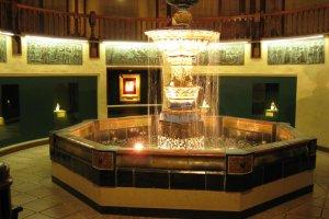 巧克力博物馆里的喷泉