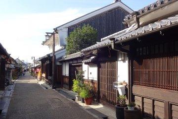 Residence of Imai-cho take pride in keeping their town beautiful