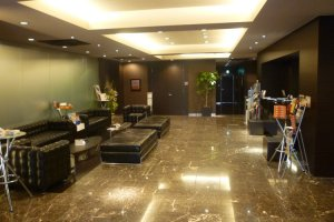 Hotel Grand Court, Tsu, lobby