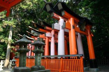 <p>Fushimi Inari Entrance</p>