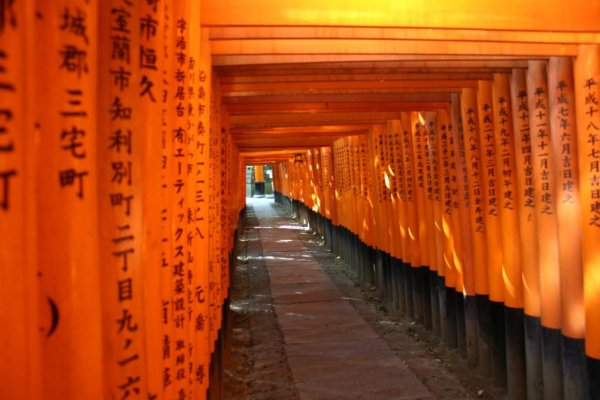 Fushimi Inari at Day