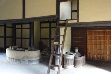 Kometani Residence: apprentice room
